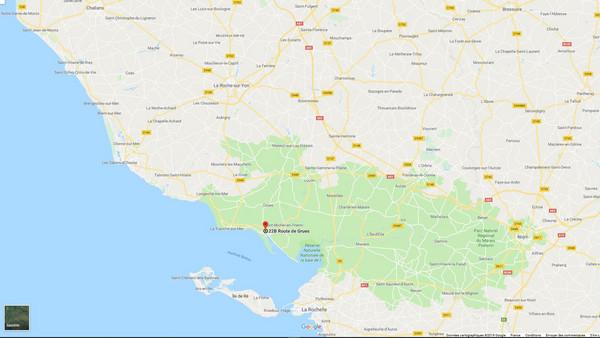 cliquez pour afficher la carte (itinéraire Google maps)