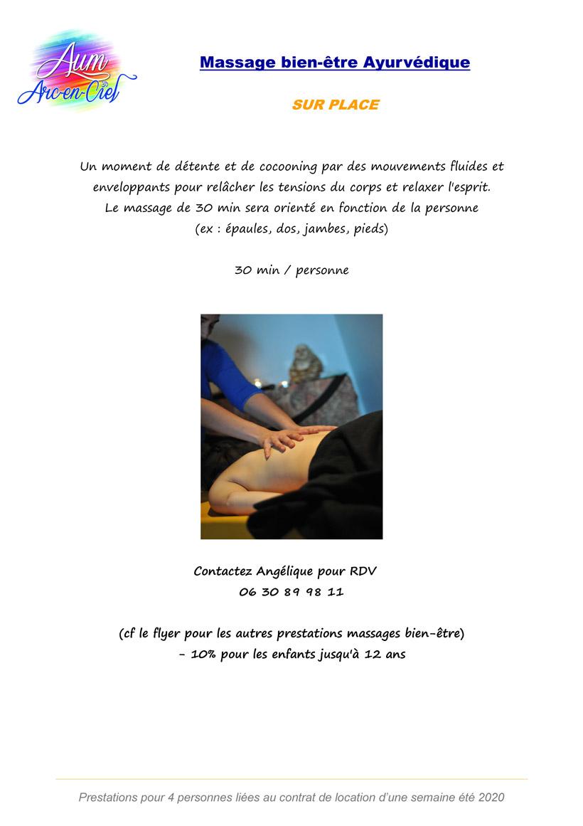 PACK BIEN-ETRE Massage