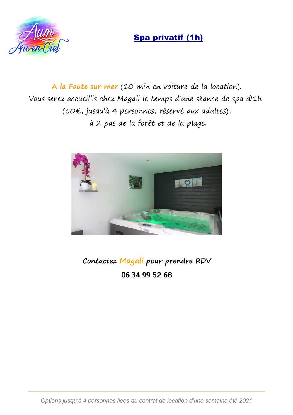 Options BIEN-ETRE 2021 spa