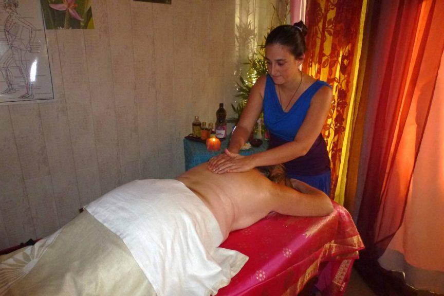 massage Aum Arc-en-ciel